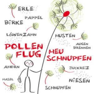 Heuschnupfen Allergie Pollenflug Grün